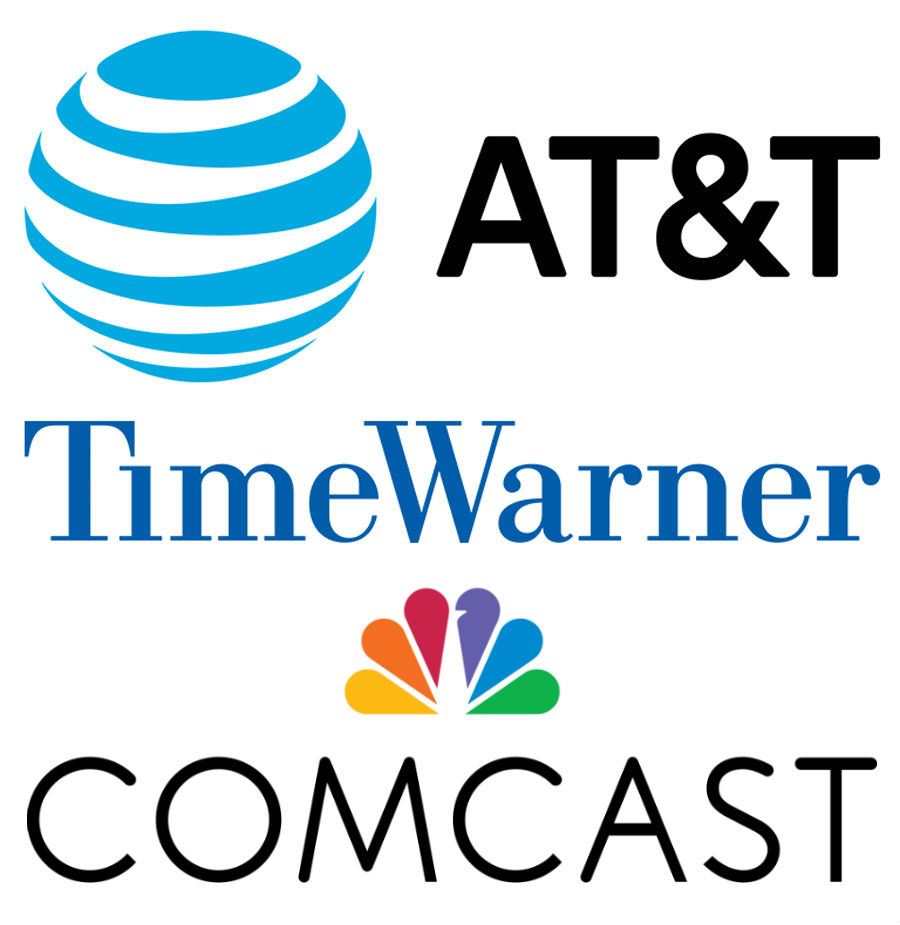 Streaming Video ATT TimeWarner Comcast